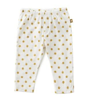 Little Label - Jersey Baby Trousers Brown Clover