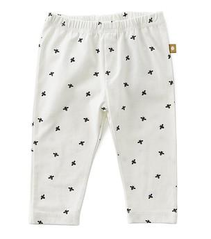 Little Label - Jersey Baby Trousers Black Bees