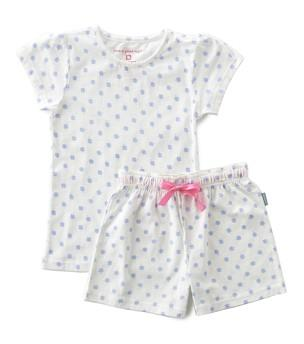 Little Label - Girls Summer Pyamas Blue Clover