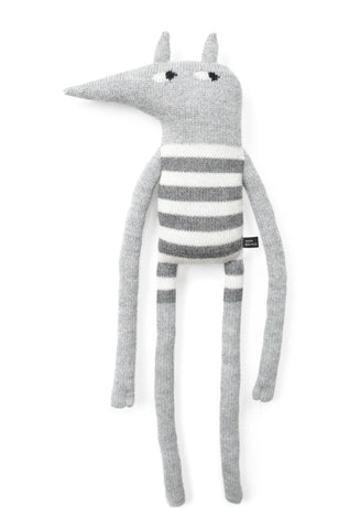 XL Doll Main Sauvage Latérite Striped/Light Grey (58cm)