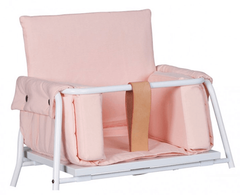 Budtzbendix Highchair Towerblock Pink