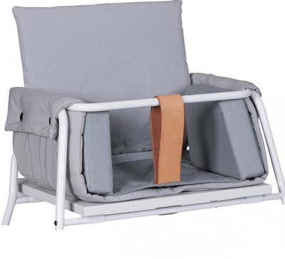 Budtzbendix Highchair Towerblock Grey