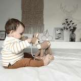 Sebra Pull Along Toy Deer