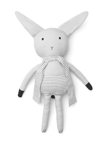 Doll Rabbit Dumbo Grey