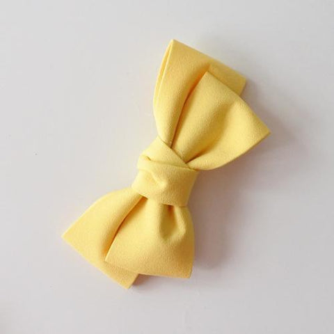 Little Millie - Hairclip Colette Bow Yellow