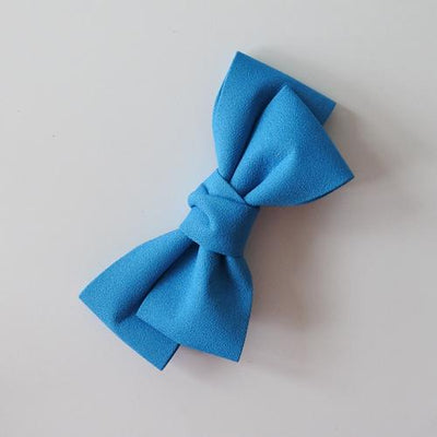 Little Millie - Hairclip Colette Bow Light Blue