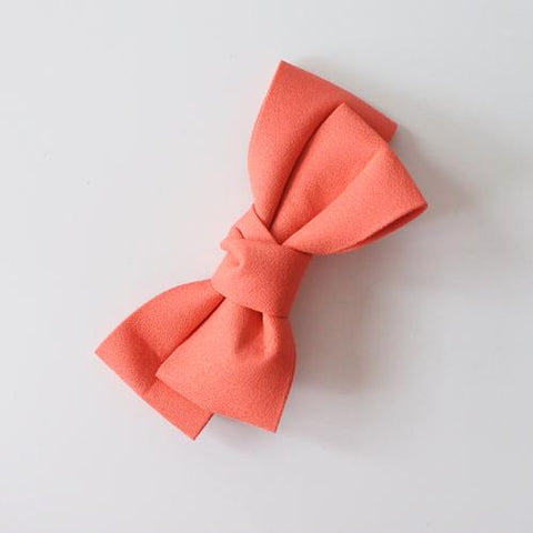Little Millie - Hairclip Colette Bow Coral