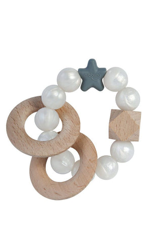 Nibbling - Rattle Natural Wood Pearl