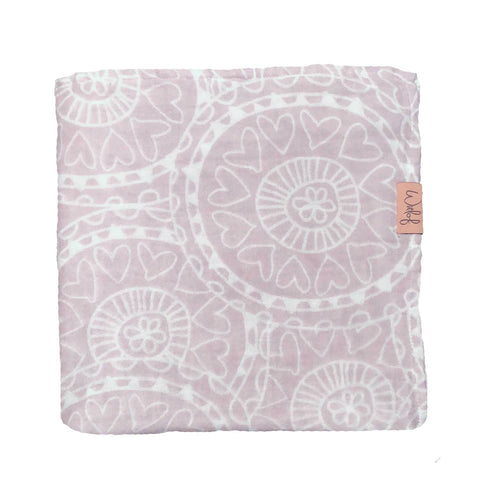 Witlof For Kids - Swaddle Little Lof Misty Pink