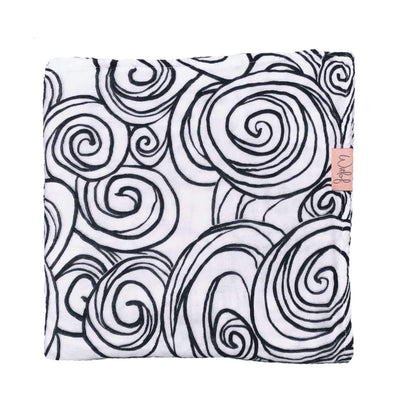 Witlof For Kids - Swaddle Moon black-white