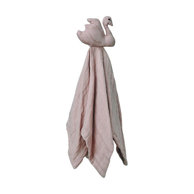 Cam Cam - Swan Cuddle Cloth Dusty Rose