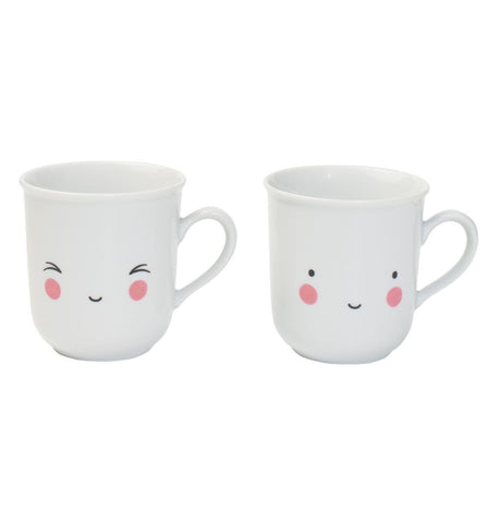Set of two Tea Cups Fun
