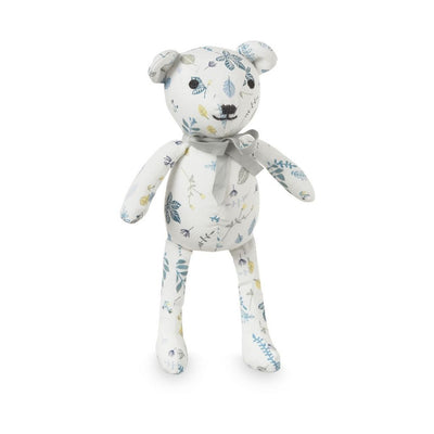 Cam Cam - Teddy Bear Pressed Leaves Blue