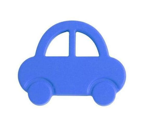 Nibbling - Teeting Toy Car Blue