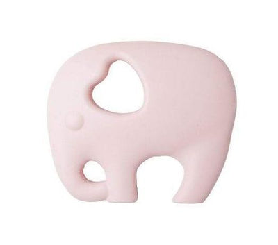 Nibbling - Teeting Toy Elephant Baby Pink