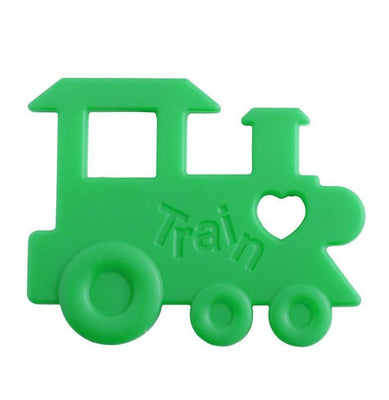 Nibbling - Teeting Toy Train Lime Green