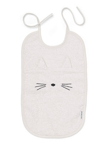 Liewood - Theo Terry bib Cat Sweet Rose