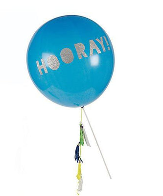 Meri Meri - Toot Sweet Blue Balloon Wand