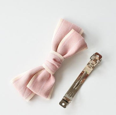 Little Millie - French Clip Addie Bow Light Pink