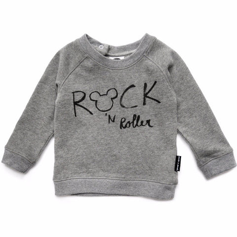 Sproet & Sprout SWEATER 'ROCK MICKEY'