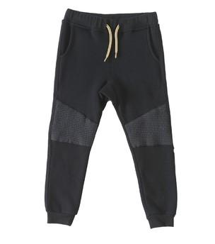 Little Label - Fancy sweat trousers uni Black