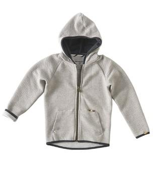 Little Label - Sweat hoody padded Oatmeal