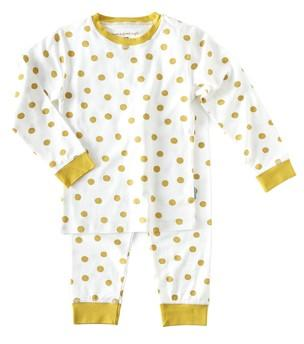Little Label - Pyjamaset big dots Caramel
