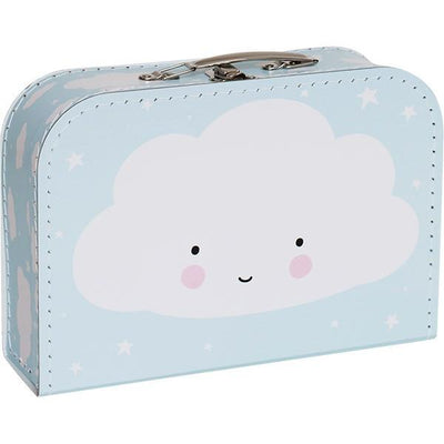 A Little Lovely Company - Suitcase Cloud Blue