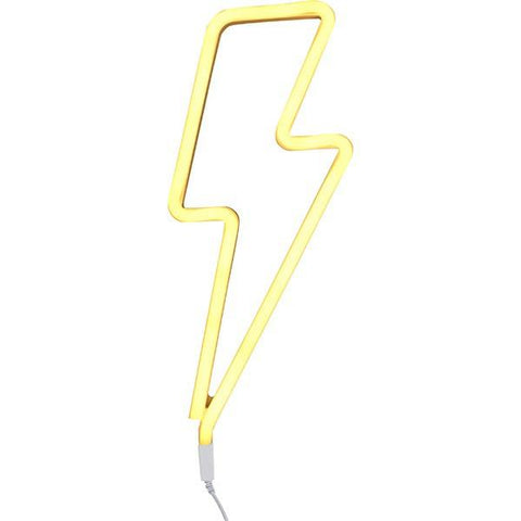 A Little Lovely Company - Neon Light Lightning Bolt Yellow