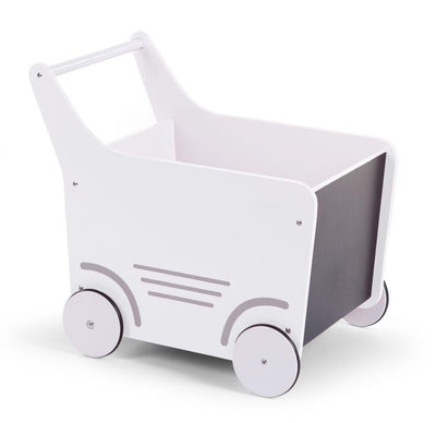 Childhome - WOODEN STROLLER WHITE