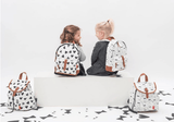 Kidzroom - Black & White Animals Backpack Trendy