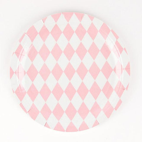 My Little Day - Pink Diamonts Plates