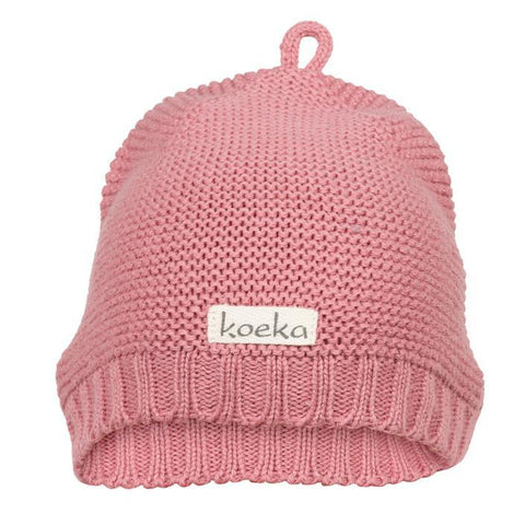Koeka - Baby Hat Fox Lake Old Pink