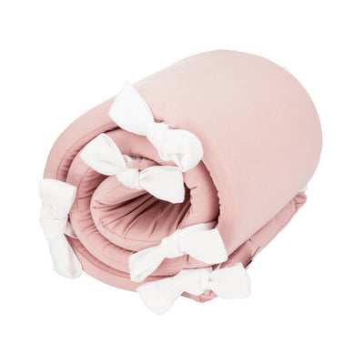 House of Jamie - Bed Playpen Bumper Powder Pink