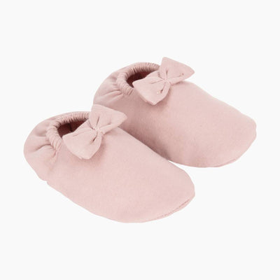 House of Jamie - Bow Tie Booties Powder Pink