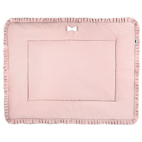 House of Jamie - Playpen Mat Reversible Powder Pink + Stone