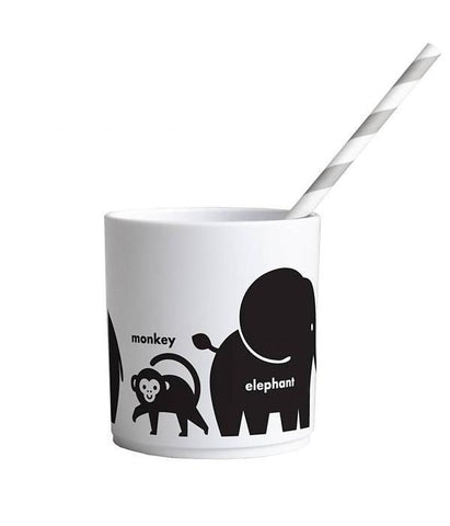 Buddy and Bear Cup Wild Animals