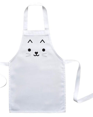 Buddy and Bear - Toddler Apron Cat