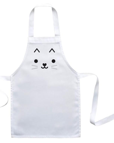 Buddy and Bear Toddler Apron Cat