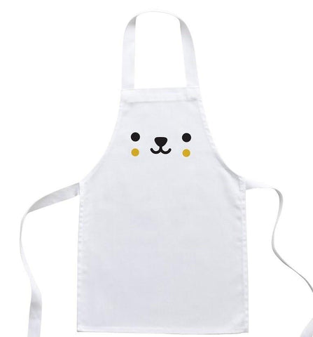 Buddy and Bear Toddler Apron Bear