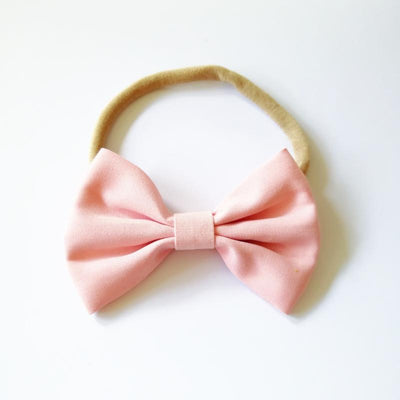 Little Millie - Headband Chloe Bow Pink