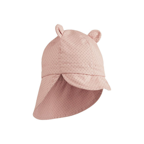 Liewood - Gorm Sun Hat Little Dot Rose