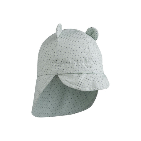 Liewood - Gorm Sun Hat Little Dot Dusty Mint