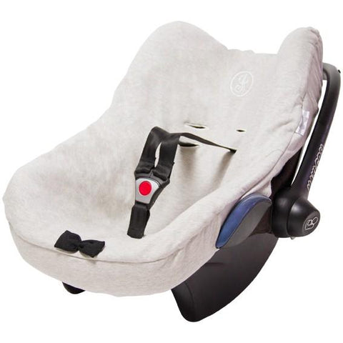 House of Jamie - Car seat cover Black & Stone + Black & White