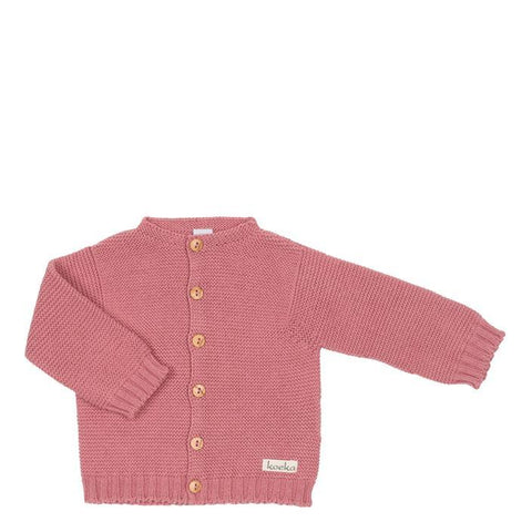 Koeka - Cardigan Fox Lake Old Pink
