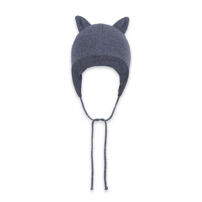 Effiki - Cashmere Hat With Ears Gray