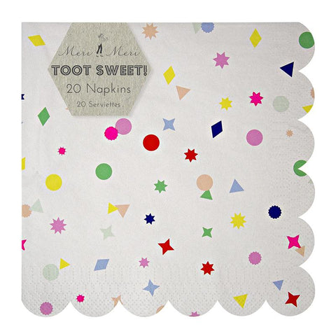 Meri Meri - Toot Sweet Charms Large Napkins