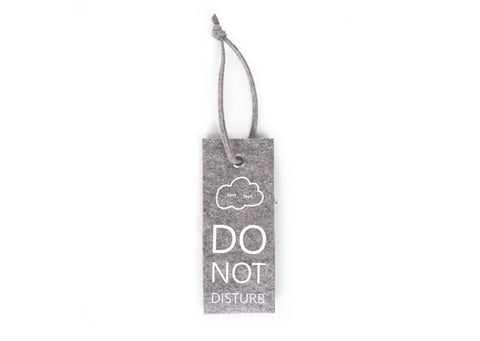Childhome - FELT DOORHANGER GREY DO NOT DISTURB