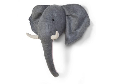 Childhome - FELT ELEPHANT HEAD WALL DECO