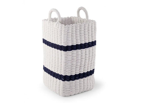 Childhome ROPE BASKET WHITE / NAVY